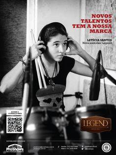 Anúncio para revista // Cliente: Legend (Proshows) // Agência: ACME Propaganda // Criação: Bruno Knop