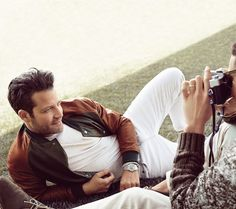 Interior Designer, Nate Berkus in the Banana Republic Ads with real people . . .