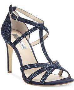 6c75e94b13b INC international concepts Reggi Sandals blue. Evening Sandals