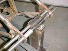MechWerks Frame Jig for Chopper and Custom Motorcycle Fabrication
