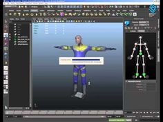 Unity3D - Character Animation - Maya HIK to Unity Mecanim [English] - YouTube