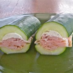 Cucumber Subs with Boars Head meats would be gluten free