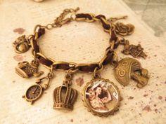 Anything Alice. a charm bracelet {br-223} | Trinketsforkeeps