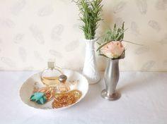 Vintage Porcelain BowlFloral design made in by seedlingplantation