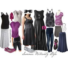 How I'm building my Summer Maternity Wardrobe
