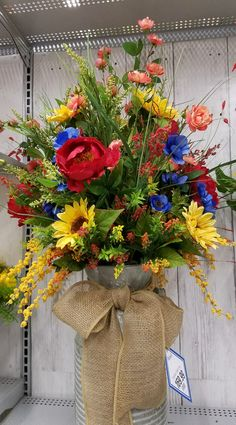 I like the arrangement Summer Flower Arrangements, Artificial Flower Arrangements, Summer Flowers, Artificial Flowers, Silk Flowers, Floral Arrangements, Beautiful Flowers, Beautiful Fruits, Flowers Nature