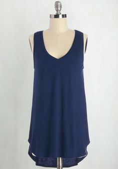 Endless Possibilities Tunic in Navy