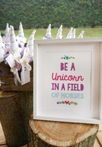Unicorn print from a Pastel Unicorn Birthday Party on Kara's Party Ideas   KarasPartyIdeas.com (6)