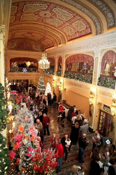 Where else in Fort Wayne will you find over fifty Christmas trees decorated in holiday charm? Come to the Festival of Trees, held in the historic Embassy Theatre, in downtown Fort Wayne. The Festival will be open from November 23 -30.