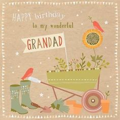 Wonderful Grandad Birthday