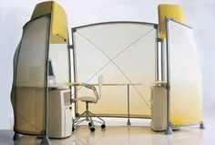 Asymptote: Knoll A3 furniture system