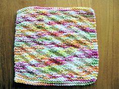 Sue's Easy Knit DIshcloth - free pattern