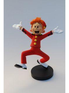 Figurine résine, Franquin : Spirou anniversaire