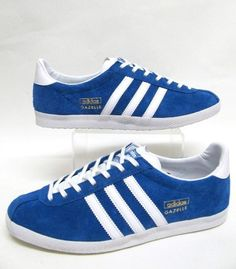 superior quality 0873f 893d4 Adidas Vintage Gazelle OG trainers in Royal Blue  amp  White This trainer  was a favourite