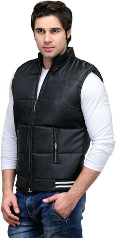 Sleeveless Solid Men's Quilted #Jacket hot & fashionable for winter season are available @ rs 499