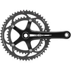 Campagnolo Veloce 10 Speed Power Torque Double The Power Torque System(TM) represents the ideal solution for the new Campagnolo(R) 10s drivetrains: high rigidity of cranks and chainrings along with extremely limited weight, efficient power transmi http://www.MightGet.com/january-2017-11/campagnolo-veloce-10-speed-power-torque-double.asp