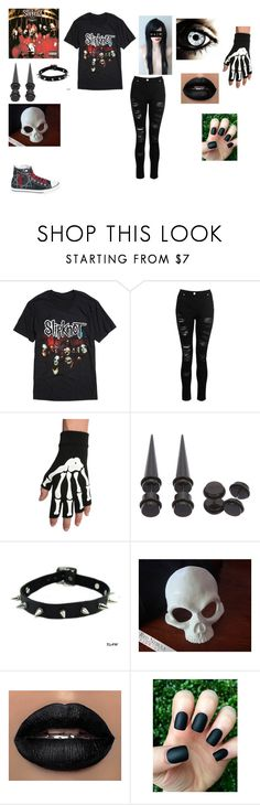 """""""Going To The Concert"""" by that-kid-in-the-back ❤ liked on Polyvore featuring Hot Topic, Dorothy Perkins and Masquerade"""
