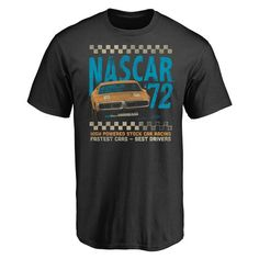 Men's Black NASCAR Classics Stock Car T-Shirt