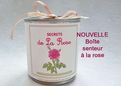 NOUVELLE Boîte Senteur Secrets de La Rose avec 1 savon - Senteurs de la maison : Soin, bien-être par ca-cause-au-lavoir