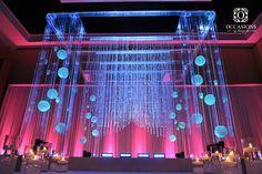 Indian Wedding Mandaps   Event Decorators : Occasions By Shangri-la www.amouraffairs.in wedding arch, indian wedding mandap, natural mandap  #indianwedding,
