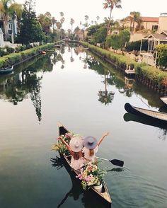 Venice Canals, CA: