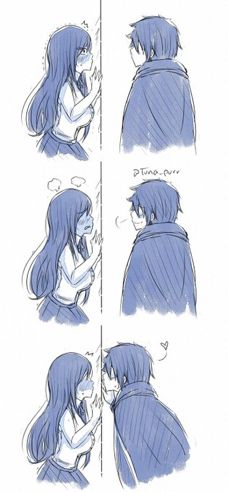 thank you whoever did this, this was the ending to that chapter that I needed Fairy Tail Funny, Fairy Tail Love, Fairy Tail Art, Fairy Tail Guild, Fairy Tail Manga, Fairy Tail Ships, Erza Y Jellal, Gruvia, Fairytail