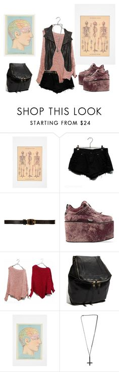 """."" by venusinvelvet ❤ liked on Polyvore featuring Urban Outfitters, CO-OP Barneys New York, Buffalo, Oryany, Alex and Chloe, Kenna-T, grunge, rocker and 90s"