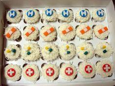 Nursing Graduation Party Ideas   Nursing School Graduation Party Ideas {From Sweets Indeed and more!}