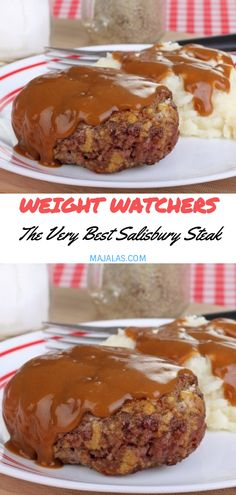 68 Trendy Ideas weight watchers recipes with points steak dinners Weight Watchers Diet, Weight Watcher Dinners, Weight Watchers Meatloaf, Weigh Watchers, Skinny Recipes, Ww Recipes, Healthy Recipes, Healthy Breakfasts, Shake Recipes