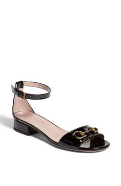 Gucci 'Liliane' Ankle Strap Sandal available at #Nordstrom