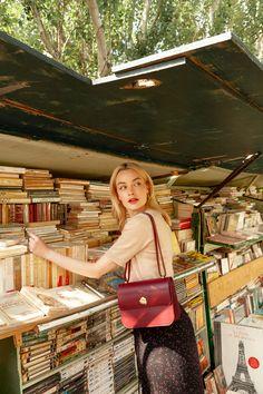 SAC ADÈLE BORDEAUX Adele, Bordeaux, Chic Dress, Style Me, Women's Fashion, Paris, Outfits, Dresses, La Mode