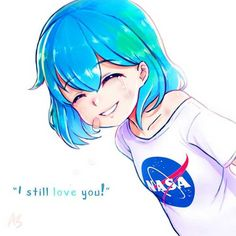 Earth-chan is an anime-style anthropomorphic representation of the planet Earth. Space Anime, Drawings, Kawaii, Anime Version, Art, Anime, Anime Style, Fan Art, Chan