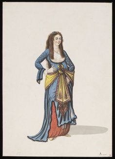 young woman in Turkish dress, 1809
