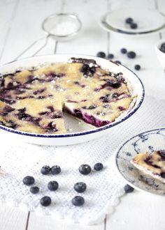 Cheesecaketarte mit Blaubeeren