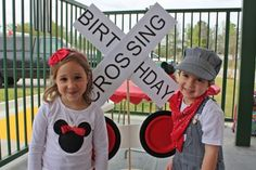 Mickey Mouse Train Birthday Party