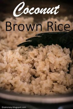 My friend mentioned to me on Saturday that she was making coconut rice for her family. She said it was really good. I thought it wou...