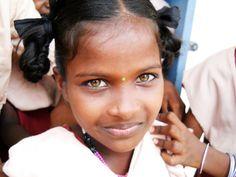 La mirada más inocente... #India