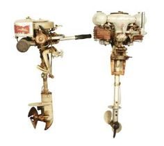 Lot Of 2: Two Outboard Boat Motors.