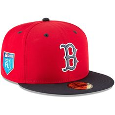 Boston Red Sox New Era 2018 Spring Training Collection Prolight 59FIFTY  Fitted Hat – Red 95edb2ba351