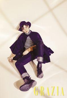 Eunwoo (Astro) - Grazia Magazine December Issue '16