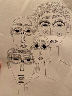 Easy Doodles Drawings, Cool Art Drawings, Art Drawings Sketches, Doddle Art, Hippie Painting, Notebook Art, Trash Art, Funky Art, Hippie Art