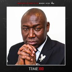 Ben Crump named in TIME 100 list of world's most influential people Working Two Jobs, Civil Rights Attorney, Fathers Say, Florida State University, Influential People, Time Magazine, State Government, King Jr, Capital City