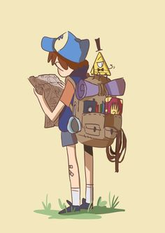Go and find Bill - Dipper by Avril-Circus on DeviantArt