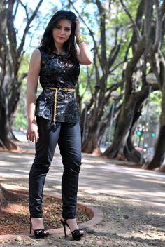 Bárbara Urias - Look peplum - www.nopreach.com