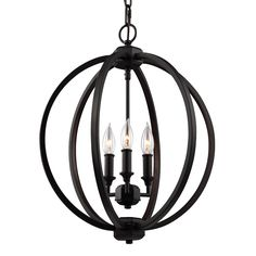 The modern orb silhouette of the Corinne is interpreted in two distinct ways. In Polished Nickel, it features an Inlay Crystal detail along the inner surfaces. In Oil Rubbed Bronze, hammered inlay detail embellishes the inner surfaces to catch light.
