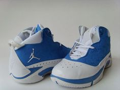 Carmelo Anthony 5.5 Shoes | 2013 Nike Air Jordans 5.5 Carmelo Anthony Shoes White Blue Online - $ ...