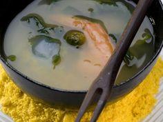 Tacacá, prato tradicional da culinária de Belém do Pará, que o restaurante Tordesilhas serve na rua durante o Tem Tacacá no Tietê (Foto: Iara Venanzi / Editora Globo)