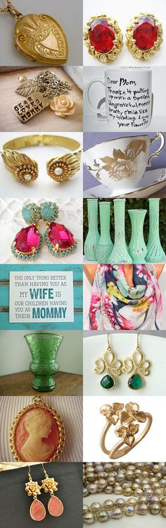 Mother's Day Gift Ideas by NfrKaVintageGoddess on Etsy--Pinned with TreasuryPin.com