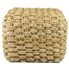 $135  Seagrass Cube Foot Stool/Side Table  BRANCA