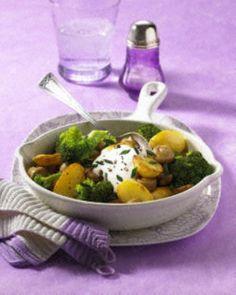Kartoffel-Gemüse-Pfanne Rezept - Chefkoch-Rezepte auf LECKER.de   Kochen, Backen und schnelle Gerichte